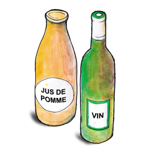 Vins, cidres, bières artisanales et jus de fruits